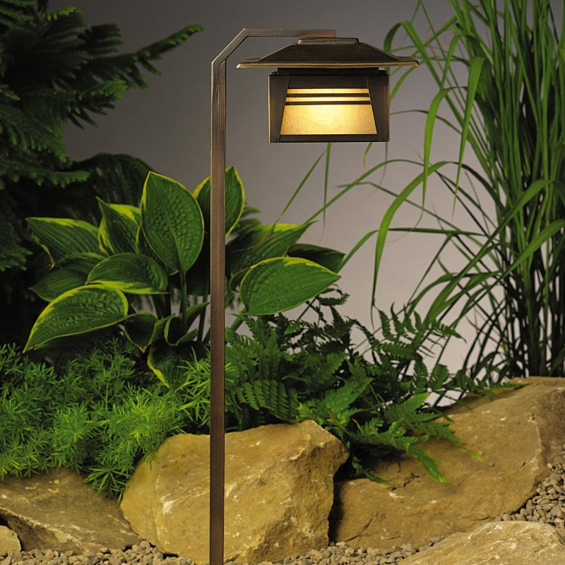 Garden solar lights on deluxe interior for Outdoor landscape lighting fixtures