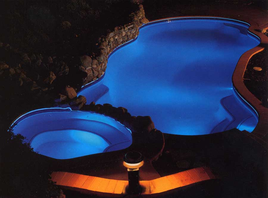 Above ground pool lights On WinLights.com   Deluxe Interior ...